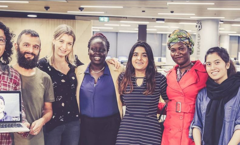 Young people lead the way in refugee mentoring project